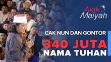 Cak Nun dan Gontor: 340 Juta Nama Tuhan