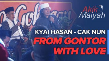 Cak Nun dan Kyai Hasan | From Gontor With Love