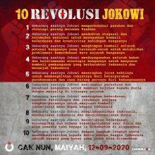 10 Revolusi Jokowi