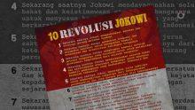 10 Revolusi Jokowi dalam Berbagai Pemahaman (1)