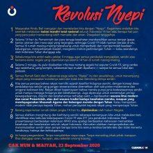 Revolusi Nyepi