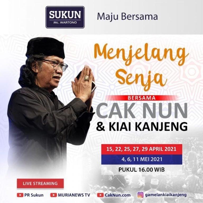 Menjelang Senja Bersama Cak Nun & KiaiKanjeng