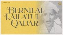 Bernilai Lailatul Qadar
