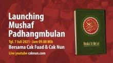 Launching Mushaf Al-Qur'an